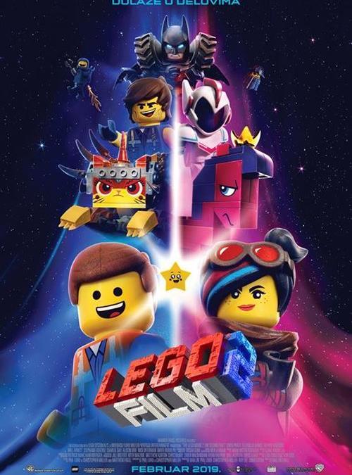 Lego film 2 od 21.02.-27.02. u 16h TITLOVANO
