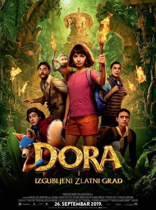 Dora i izgubljeni zlatni grad od 26.09.2019