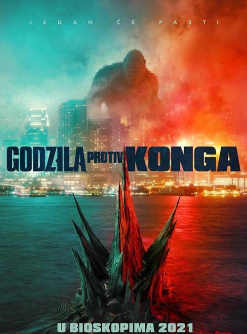 Godzila protiv Konga 3D od 15.04. do 21.04. u 17:30h