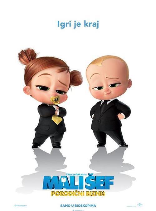 Mali šef – Porodični biznis 3D SINHRONIZOVANO od 14.10.do 20.10. u 16h SUB I NED U 11H
